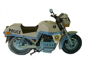 BMW K 100 + AB-cop