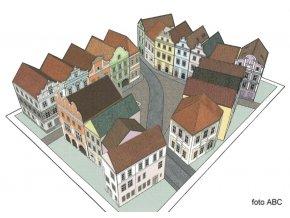 Náměstí v Kopečku - 2017- komplet včetně řezů