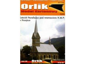 farní kostel v Porabce