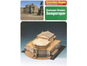 Semperova opera Drážďany
