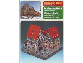Rothenburg - lékárna a krytá tržnice