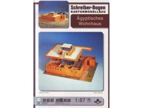 egyptský obytný dům