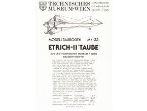 Etrich-II 'Taube'