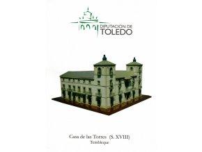 Tembleque - palácový dům - jednodušší verze