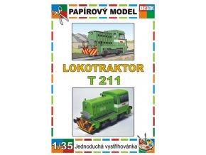T 211 - Prasátko - dieselová lokomotiva (řada 700, 701)