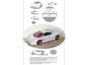MTX Tatra V8 - bílá