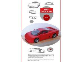 MTX Tatra V8 - červená