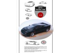 MTX Tatra V8i - černá