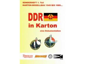 DDR v papírových modelech - 1. díl