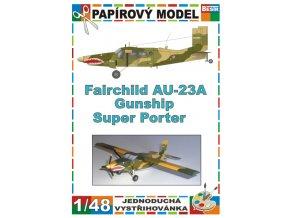 Fairchild AU-23A Gunship Super Porter