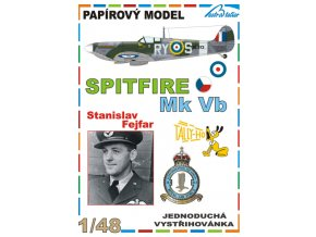 Spitfire F Mk Vb - Stanislav Fejfar