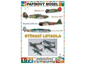 Stíhací letadla - Sovětský svaz - Japonsko