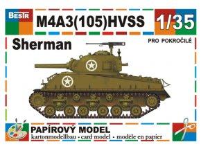 M4A3(105) HVSS Sherman