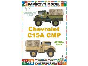Chevrolet C15A CMP - Afrika 1942 - 2 verze