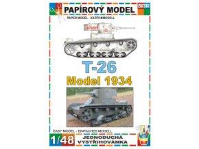 T-26 model 1934 - zimní verze
