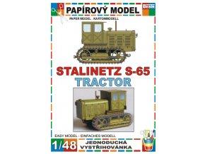 Stalinetz S-65 (krytá kabina)