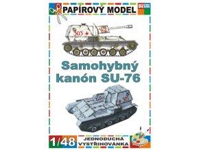 SU-76 - zimní verze