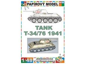 T 34/76 model 1941 - Leningrad 1941 - zimní verze
