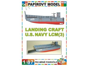 LCM(3) - Landing craft U.S. Navy
