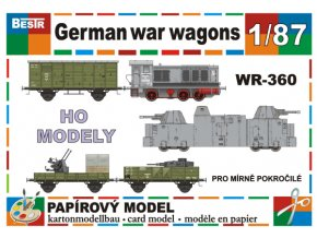 German war wagons - WR-360