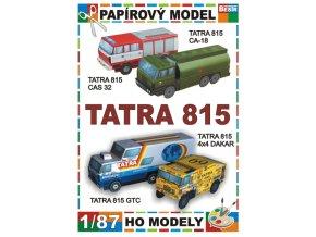 Tatra 815 - 4 různé verze