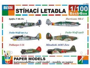 Stíhací letadla II. světové války