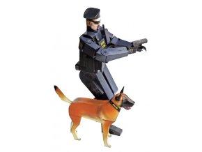 policista se psem