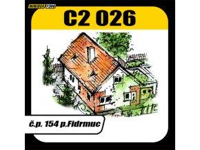 č.p. 154 p. Fidrmuc, Javorová ulice