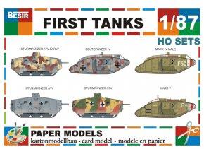 First Tanks - první tanky