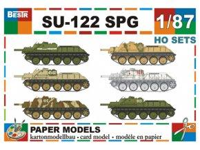 SU-122 SPG - 6 různých verzí