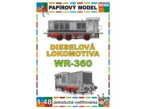 WR-360 - dieselová lokomotiva