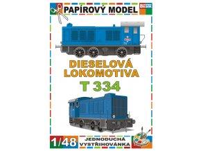 T 334 - dieselová lokomotiva
