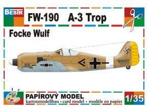 Focke-Wulf - 190 A-3 Trop