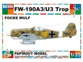 Focke-Wulf - 190 A3/U3 Trop