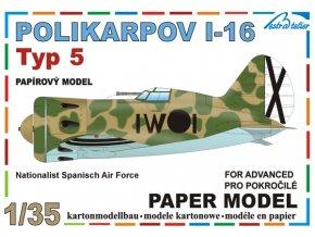 Polikarpov I-16 typ 5 - Španělsko