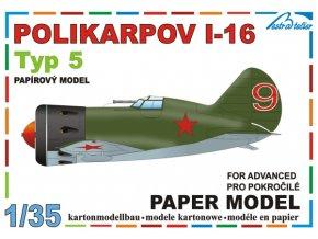 Polikarpov I-16 typ 5 - Sovětský svaz