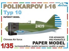 Polikarpov I-16 typ 10 - Čína