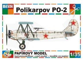 Polikarpov PO-2 - zimní verze