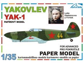 Yakovlev Yak-1 - Sovětský svaz, L.V.Lytvyak