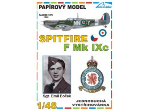 Spitfire F Mk IXc - Sgt. Emil Boček