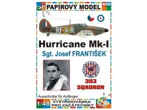 Spitfire F Mk I - Sgt. Josef František