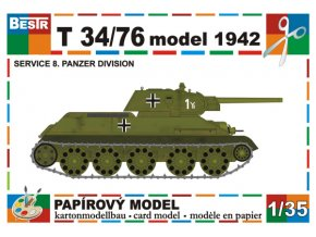 T-34/76 model 1942 - service 8 panzer division