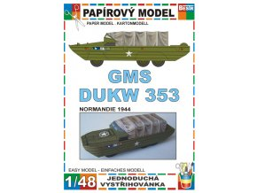GMS DUKW 353 - Normandie 1944