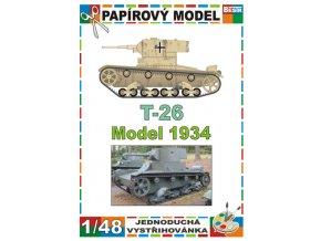 T-26 model 1934