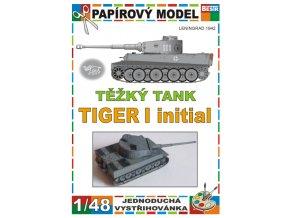 Tiger I initial - Leningrad 1942