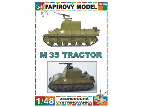 M 35 tractor