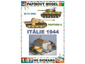 Itálie 1944 - M-10 GMC, Panther A