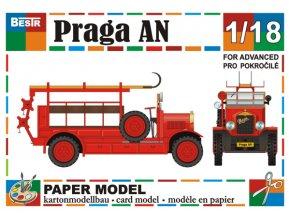Praga AN - hasiči