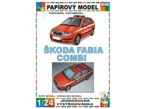 Škoda Fabia Combi - hasiči