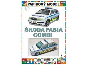 Škoda Fabia Combi - městská policie